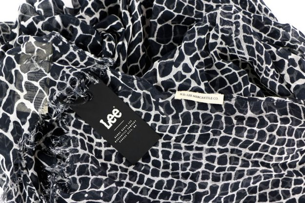 LEE ULTIMATE SCARF BLACK LW351801      $