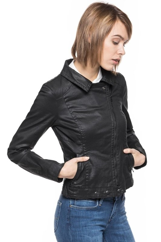 TOM TAILOR COATED BIKER JACKET