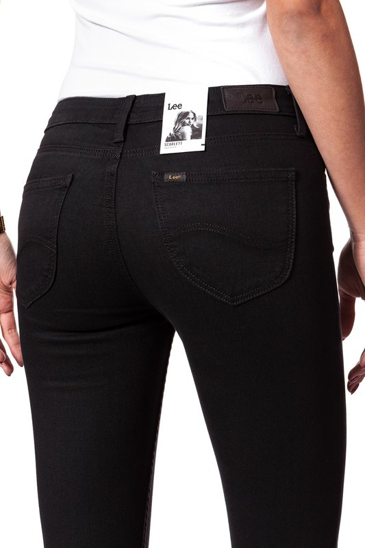 LEE SCARLETT CROPPED BLACK RINSE L30CAE47
