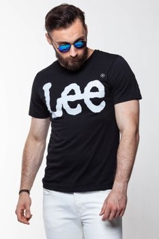 LEE LOGO TEE BLACK L64CAI01