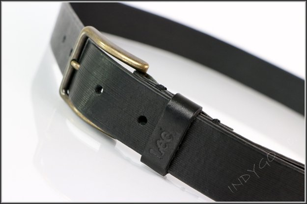 LEE CUT LINE BELT BLACK LB205001