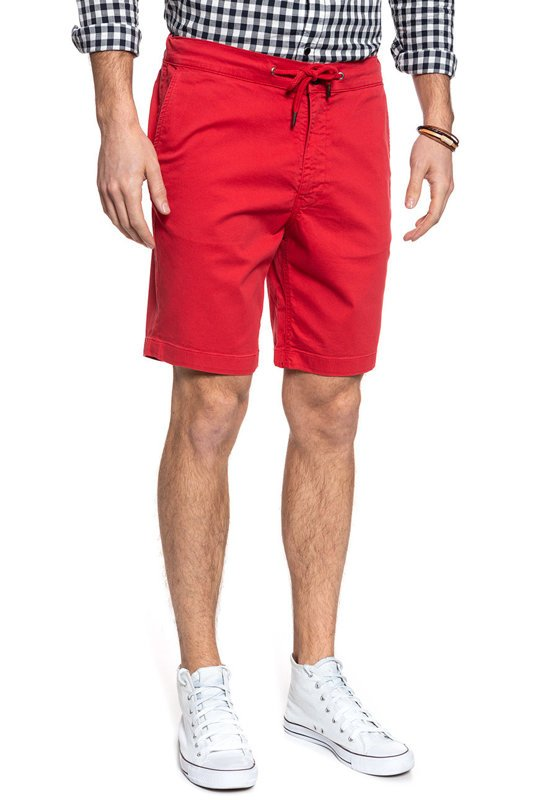 LEE DRAWSTRING SHORT CHINESE RED L73ULV50