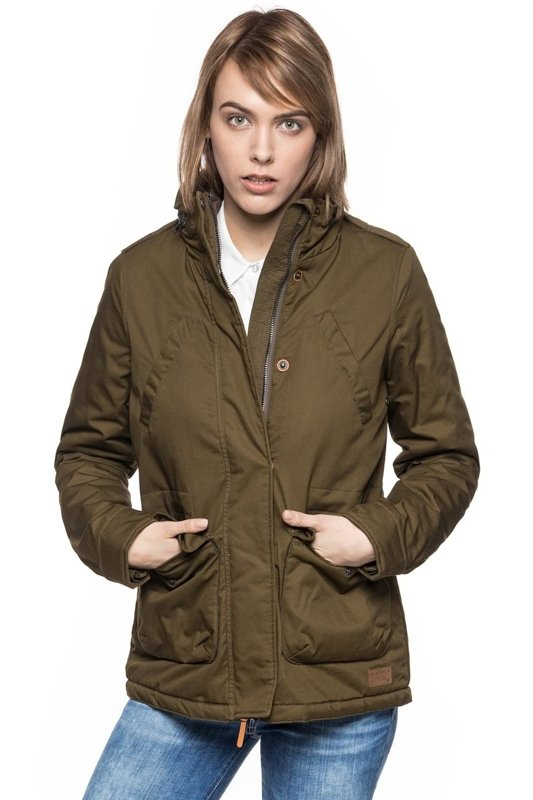 LEE FIELD JACKET L56WVTMP DARK OLIVE