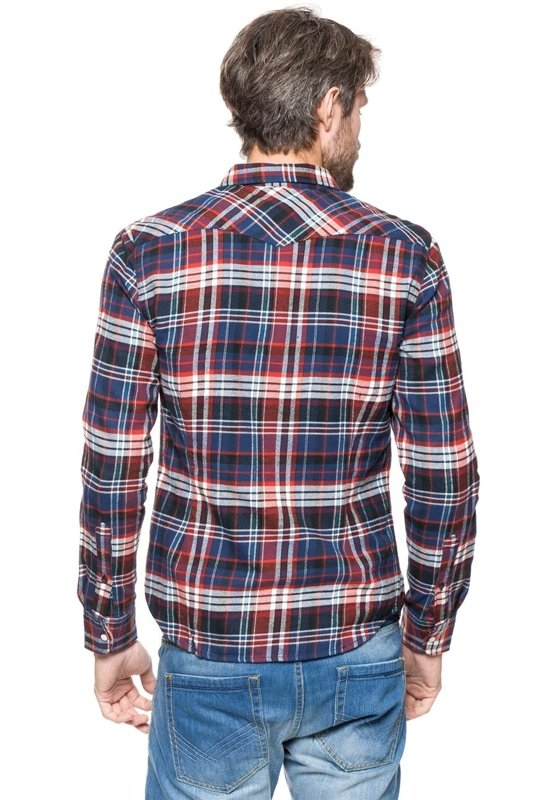 LEE LEE WESTERN SHIRT LAVA RED L643DBAF