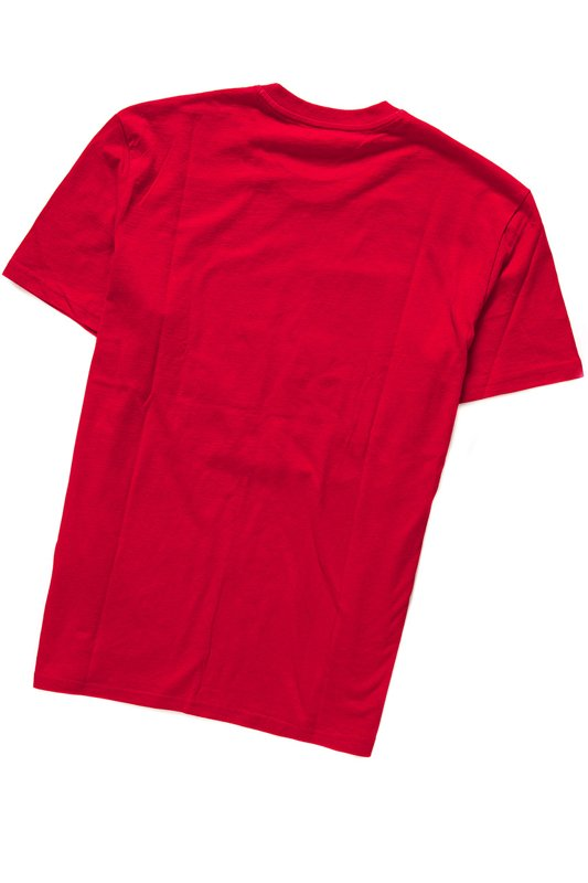 LEE NIGHT WALKER TEE BRIGHT RED L62TREEF