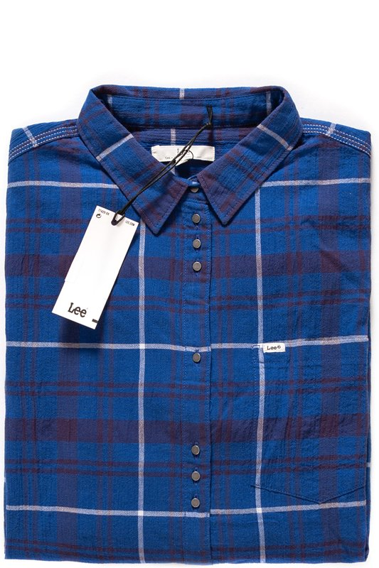 LEE ONE POCKET SHIRT FRENCH BLUE L44JXDKS