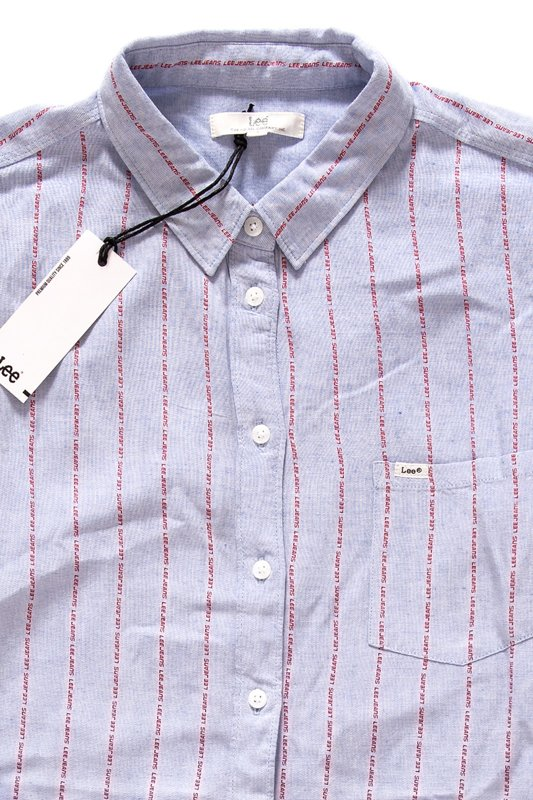 LEE ONE POCKET SHIRT HEATHER BLUE L46BCBLI