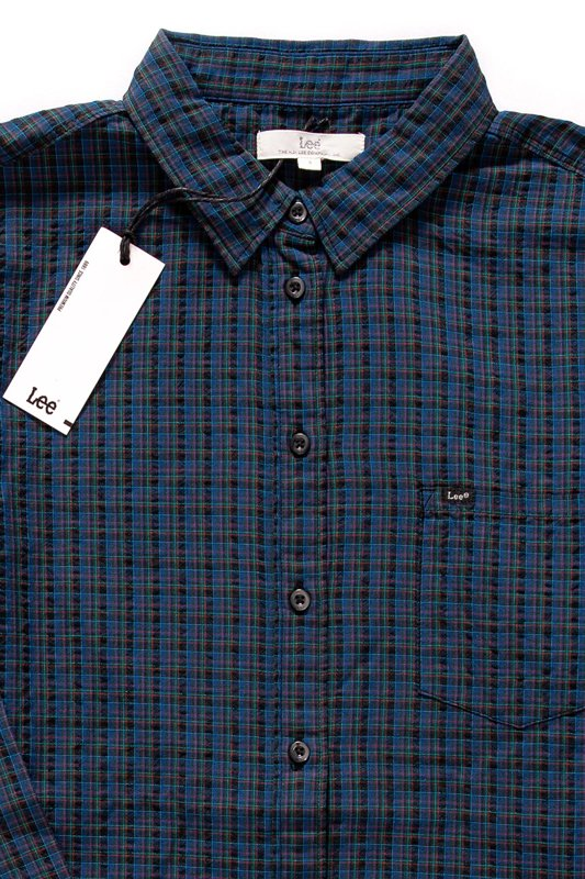 LEE ONE POCKET SHIRT MIDNIGHT NAVY L46BRCMA