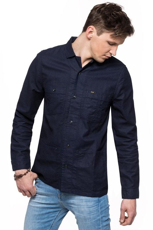LEE OVERSHIRT BLUE EXPLORE L87GWWUK