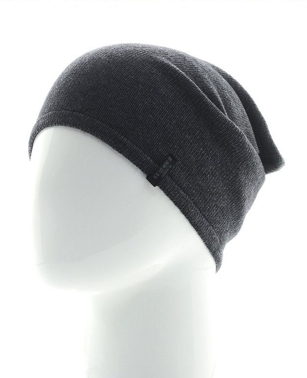 LEE OVERSIZED BEANIE DARK GREY MELE LW104806
