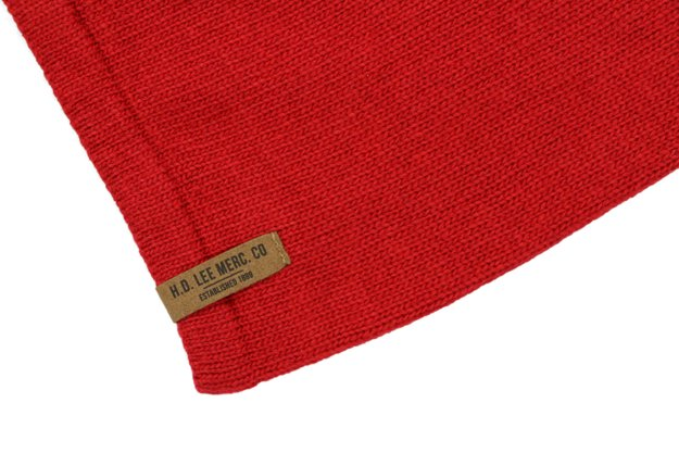 LEE OVERSIZED BEANIE PRIMARY RED LW1048LK