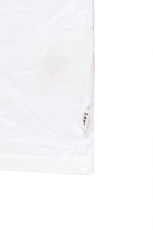 LEE PHOTOGRAPHIC TEE WHITE L62UAI14