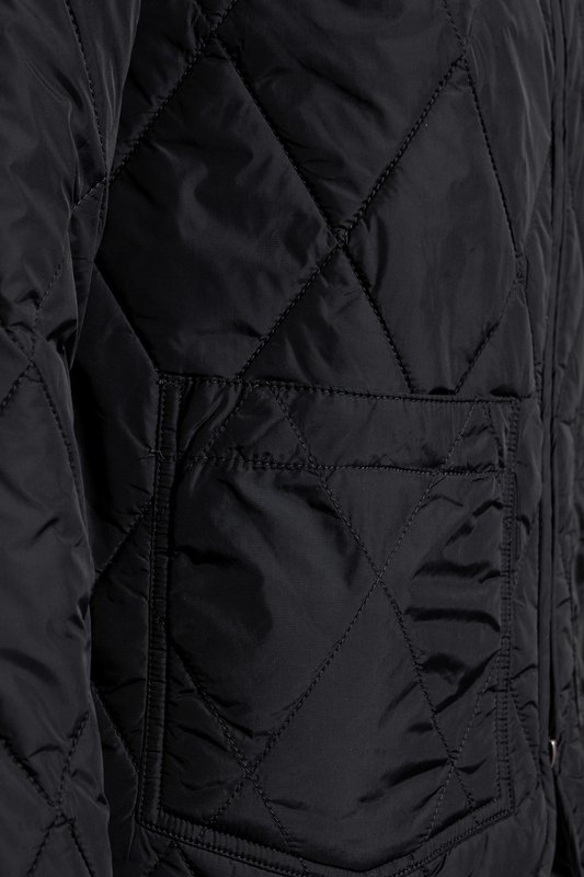 LEE QUILTED BOMBER JACKET BLACK L87DWW01