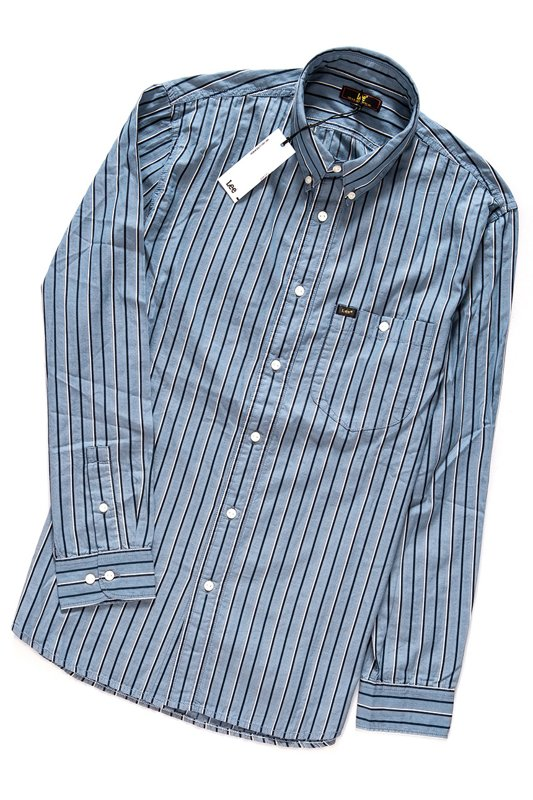 LEE RIVITED SHIRT SKY BLUE L66IUELM