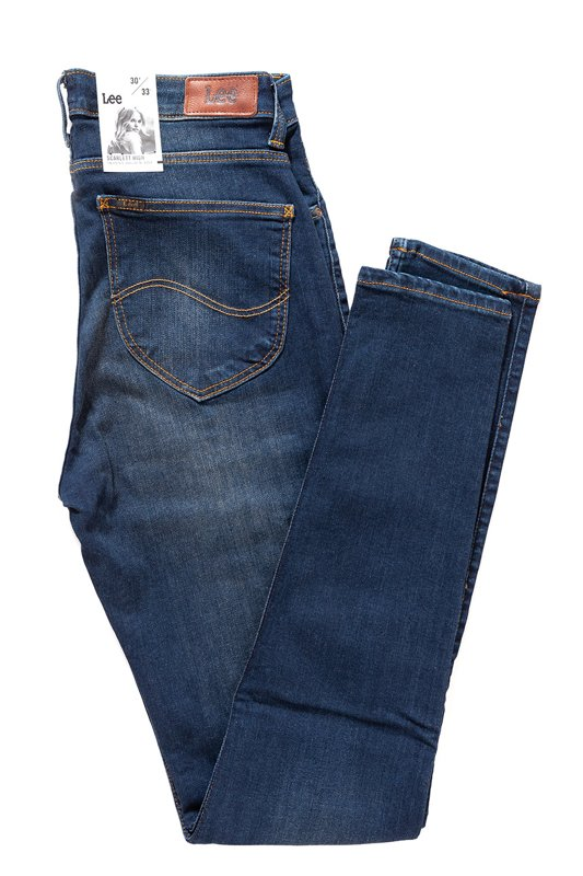 LEE SCARLETT HIGH BLUE INDIGO L626HAEL