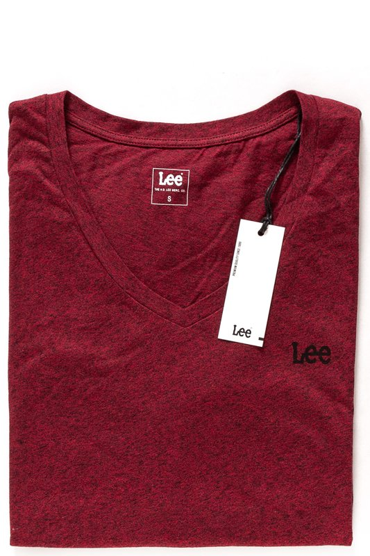 LEE SS PLAIN T RHUBARB RED L41VWFGB