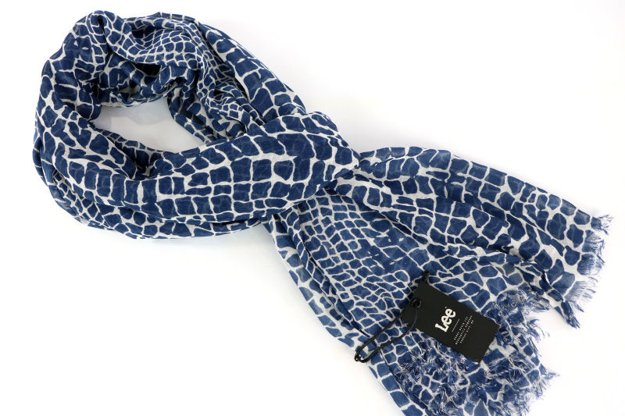LEE ULTIMATE SCARF MEDIEVAL BLUE LW351813      $