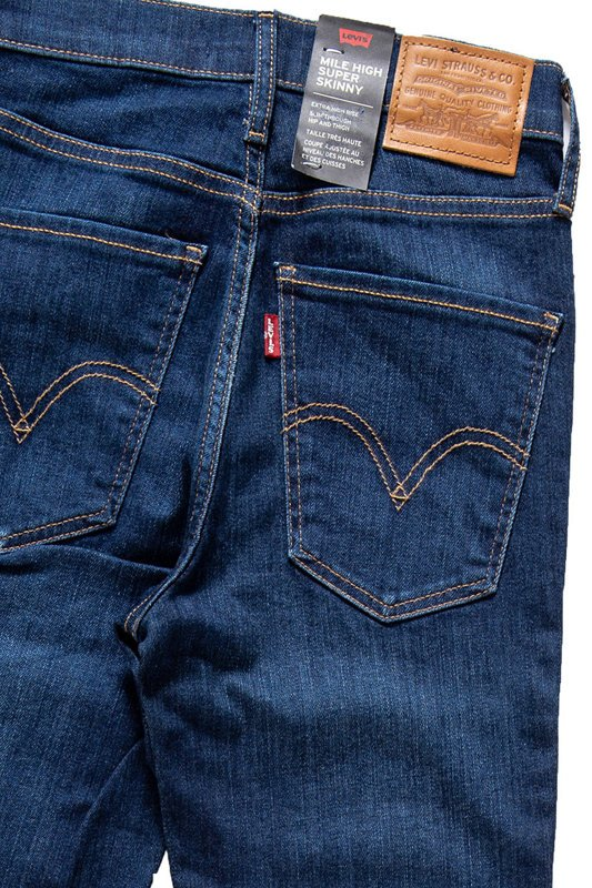 LEVI'S Mile High Super Skinny Ankle 227910063