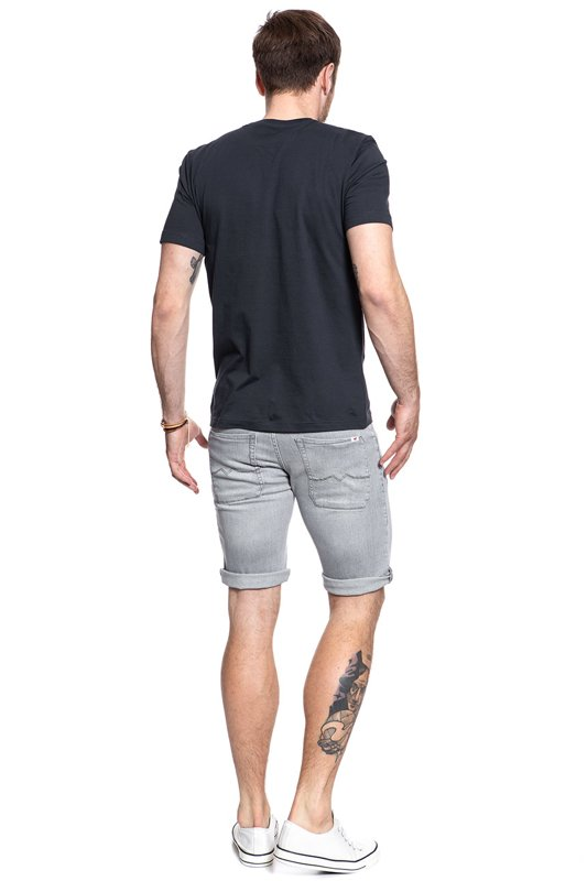 MUSTANG 5 Pocket Short DENIM GREY 1007719 4500 584