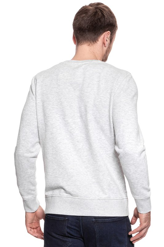 MUSTANG Basic Crewneck LIGHT GREY MEL. 1007003 4163