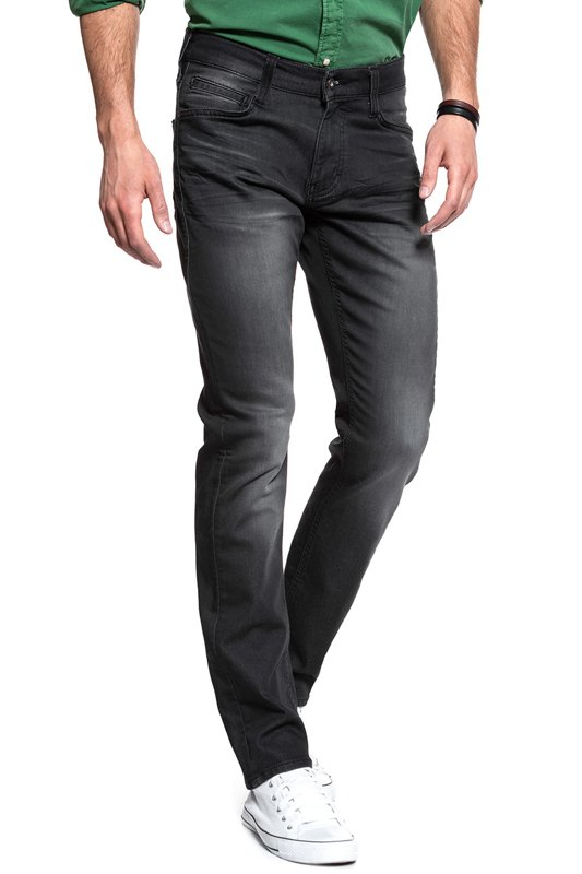 MUSTANG Oregon Tapered K DENIM BLACK 1006661 4000 923