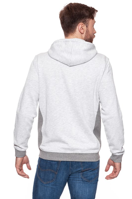 MUSTANG Sweatjacket Light grey melange 1006371 4141