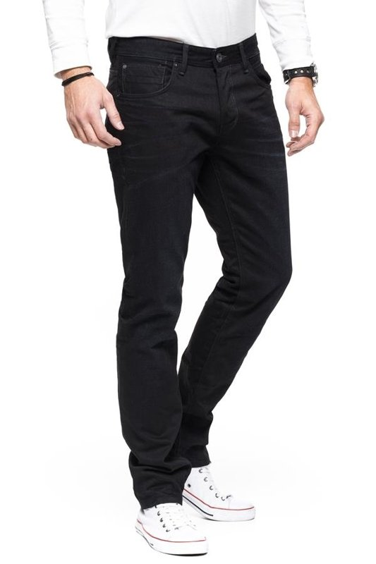 TOM TAILOR AEDAN SLIM BLUE BLACK DENIM 6203549.00.12 COL. 1057