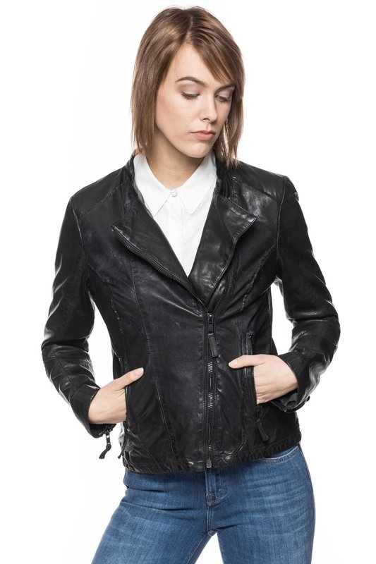 TOM TAILOR BIKER LEATHER JACKET