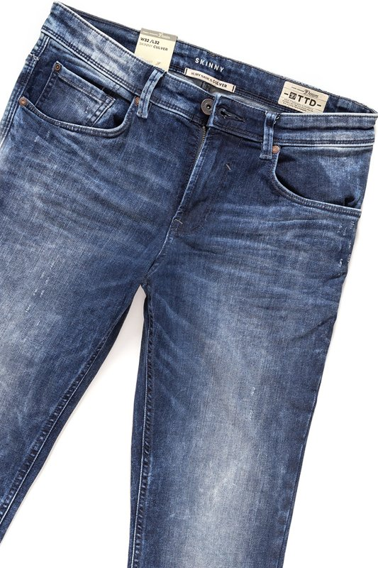 TOM TAILOR CULVER SKINNY BLUE DENIM 6203933.62.12 COL. 1094