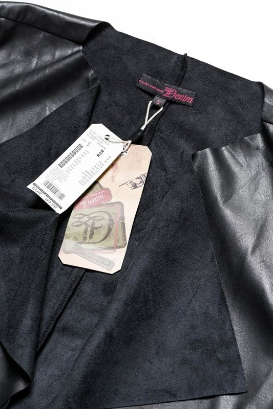 TOM TAILOR FAKE LEATHER JACKET