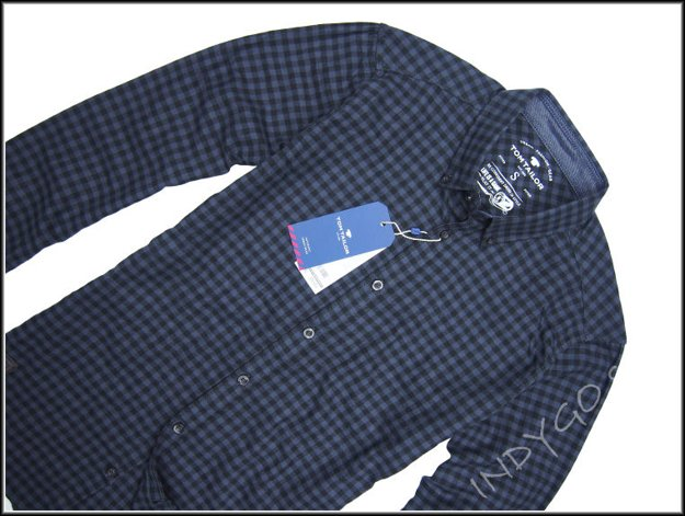 TOM TAILOR FLANNEL CHECK SHIRT FITTED 20307222510 COL.2975