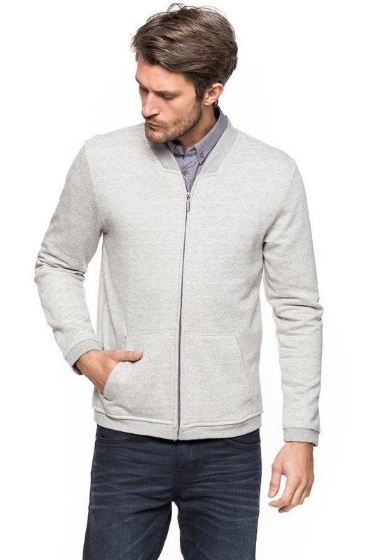 TOM TAILOR GRINDLE SWEAT JACKET