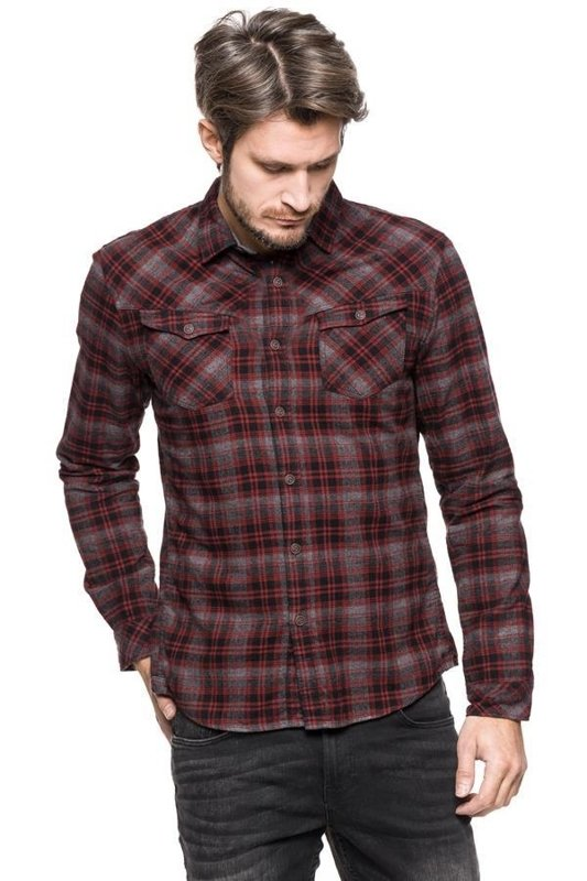 TOM TAILOR HEAVY FLANNEL SHIRT 2030672.62.12 COL. 2999