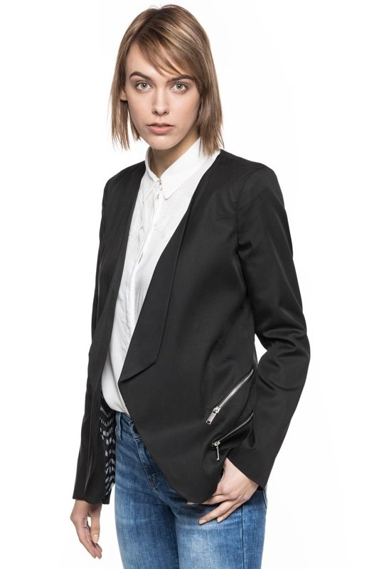 TOM TAILOR MODERN BLAZER WITH OPEN FRONT