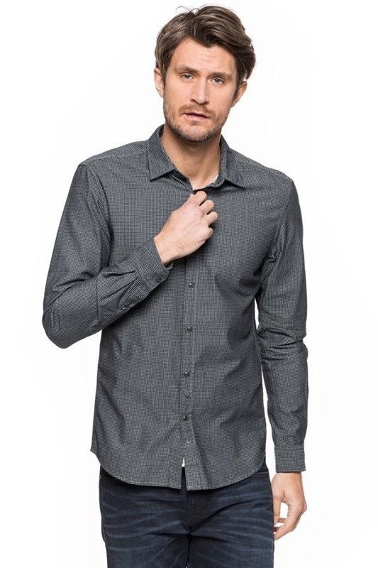 TOM TAILOR PRINTED CHAMBRAY 20305080012 COL.2661