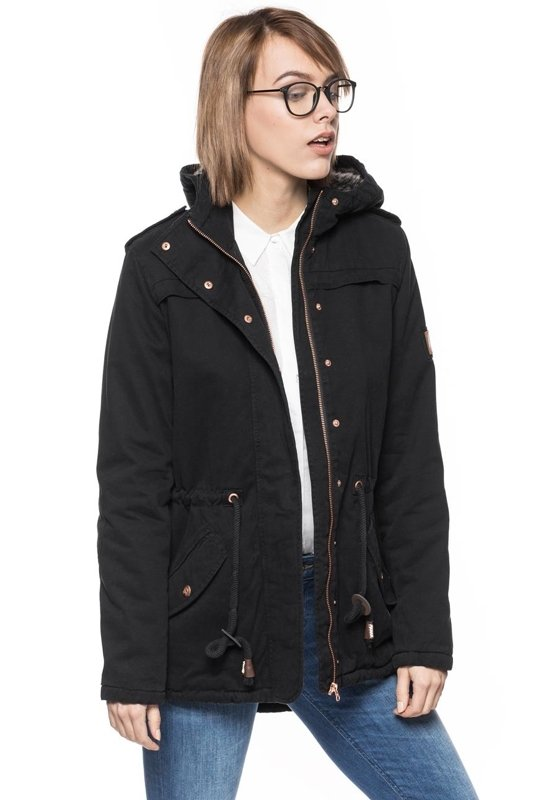 TOM TAILOR SHORT PARKA WITH TEDDY AND FUR 3521663.00.71