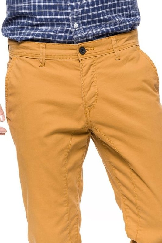 TOM TAILOR SOLID STRETCH TWILL JOGG CHINO DAWN MOUNTAIN BROWN 6403965.00.12 COL. 8288