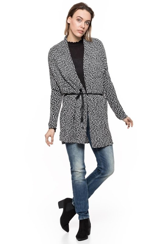 TOM TAILOR TWO COLORED CARDIGAN