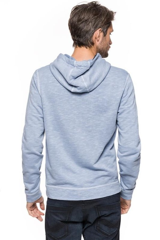 TOM TAILOR WASHED HOODIE WITH PRINT 2529385.00.10 COL. 6727S