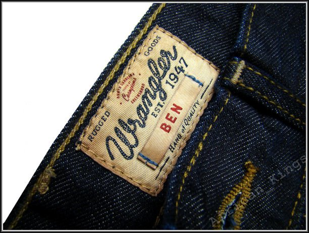 WRANGLER BEN RESIN RINSE THE TAPERED W11MC336R      $