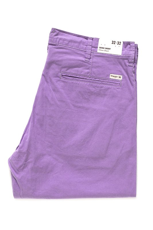 WRANGLER CHINO SHORT ORCHID PURPLE W14AMM25S