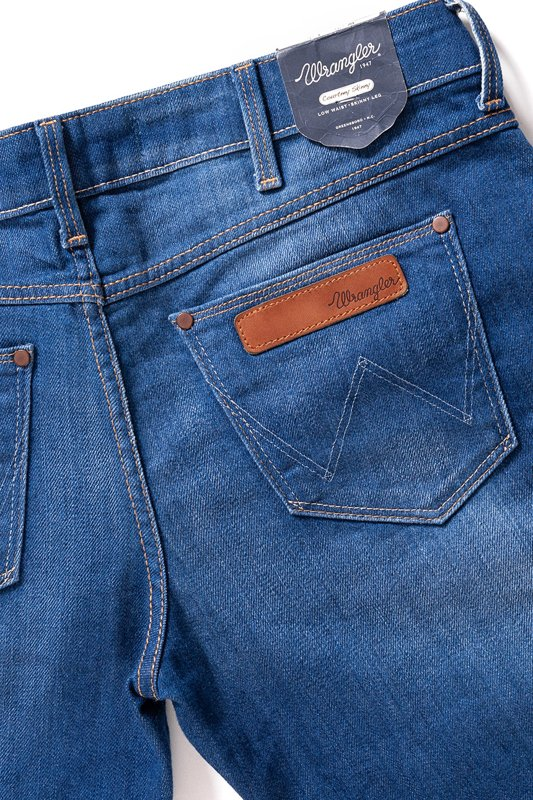 WRANGLER COURTNEY SKINNY NAVVY BLUES W23S-JJ-59A