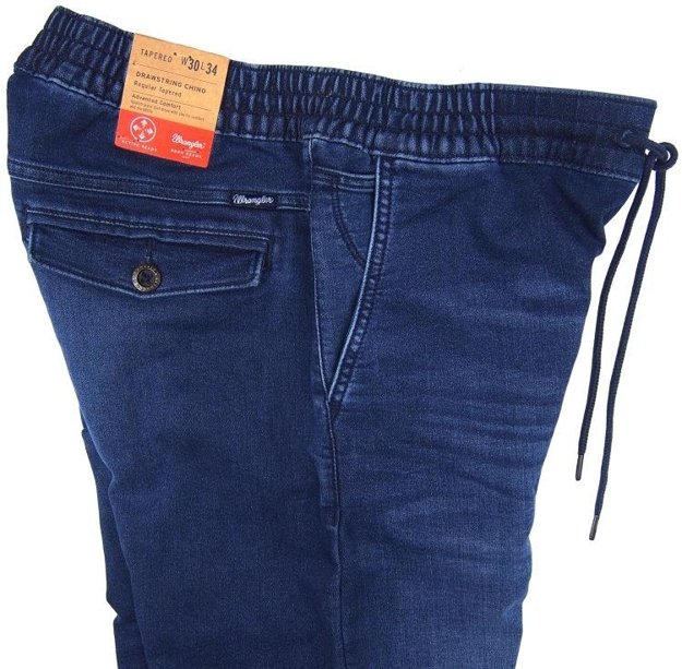 WRANGLER DRAWSTRING CHINO WAVERIDER W16DAC70I      $