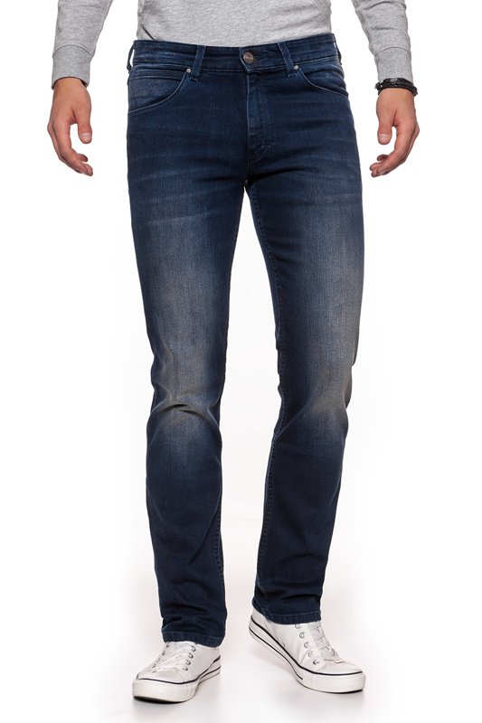 WRANGLER GREENSBORO BLUE AND BLACK W15QQC72C