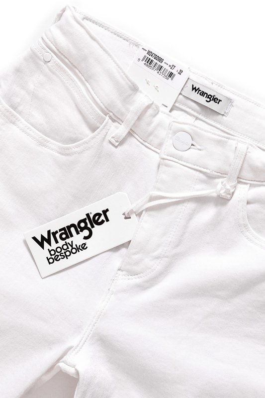 WRANGLER HIGH SKINNY CROP WHITE W247GO989
