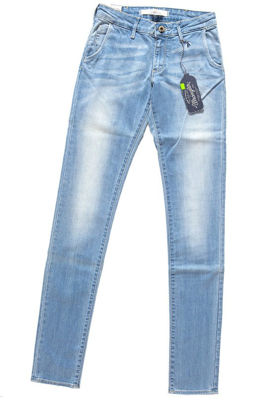 WRANGLER MOLLY CHINO KINGFISHER W25QX145RS