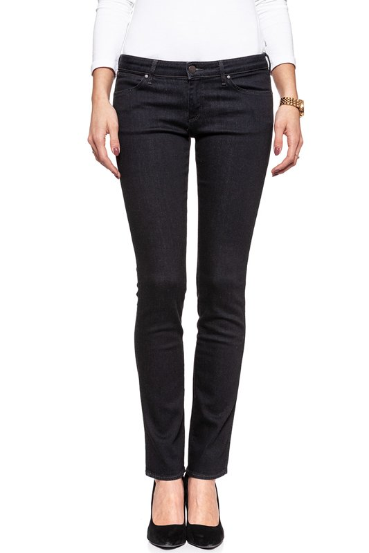 WRANGLER MOLLY STRAIGHT BLACK W26F-LI-55G
