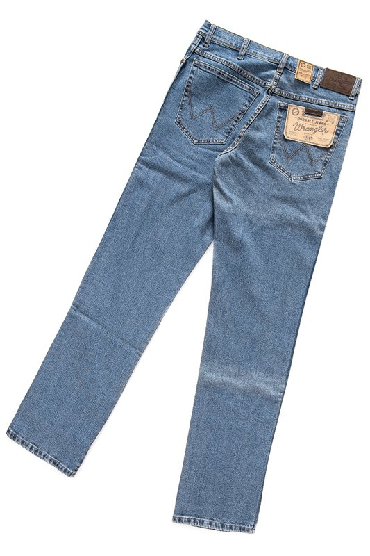 WRANGLER REGULAR FIT STONEWASH W10I23010