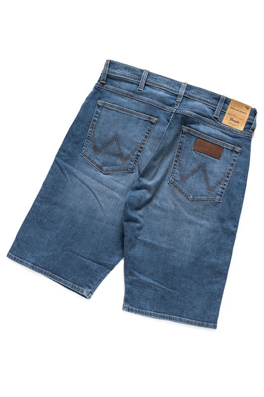 WRANGLER REGULAR SHORTS BLUE AND TWO W15UDI48H