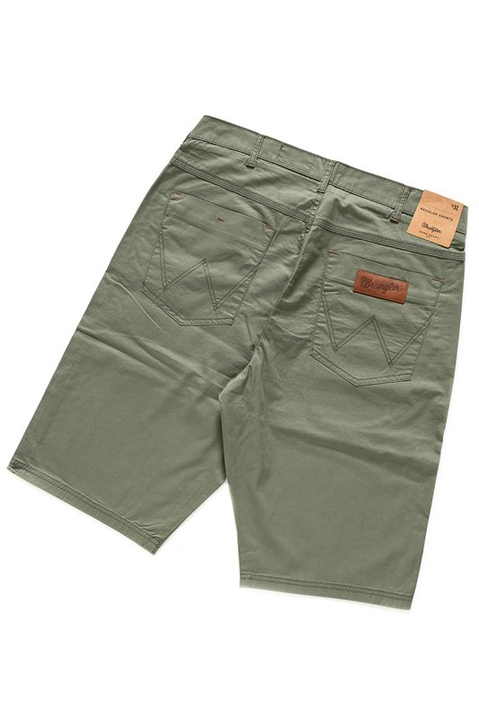 WRANGLER REGULAR SHORTS DUSTY OLIVE W15UOO275